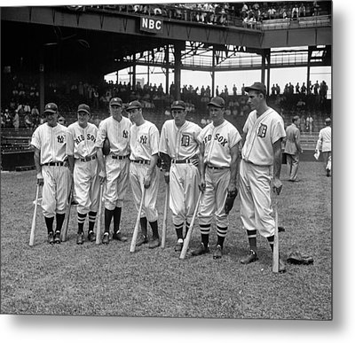 All-star Game, 1937 Metal Print