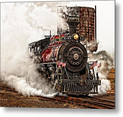 All Steamed Up Metal Print