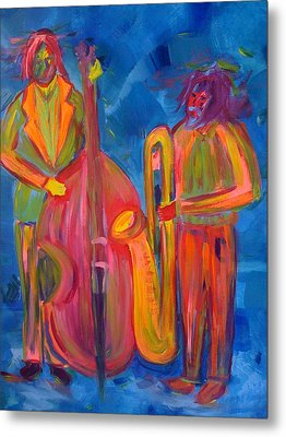 All That Jazz Metal Print by Judi Goodwin