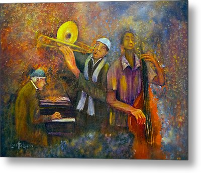 All That Jazz Metal Print