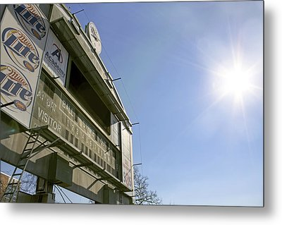 All That Remains Of Ray Winder Field Metal Print by Jason Politte