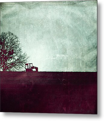 All That's Left Behind Metal Print by Trish Mistric