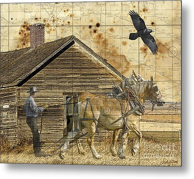 All That's Left Metal Print by Judy Wood