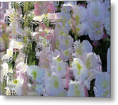 All The Flower Petals In This World Metal Print by Kume Bryant