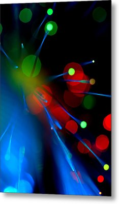 Metal Print featuring the photograph All Through The Night by Dazzle Zazz