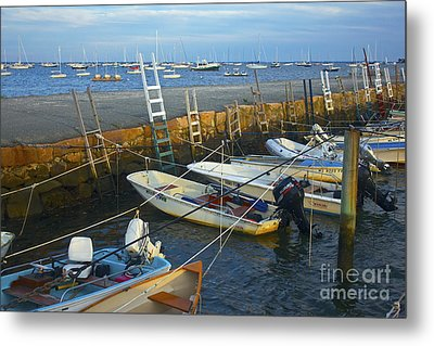 All Tied Up In Mattapoisett Metal Print by Amazing Jules