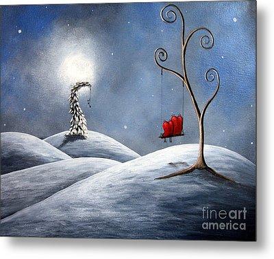 All We Need For Christmas By Shawna Erback Metal Print by Shawna Erback