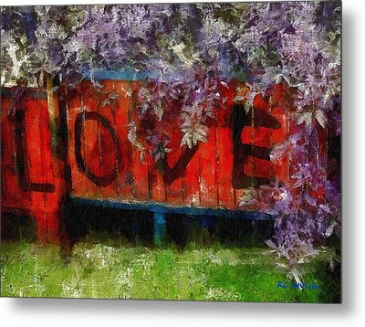 All You Need Is... Metal Print by RC deWinter
