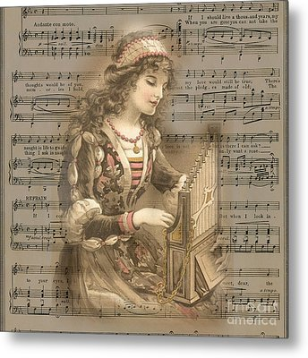 All You Want Is Music Metal Print