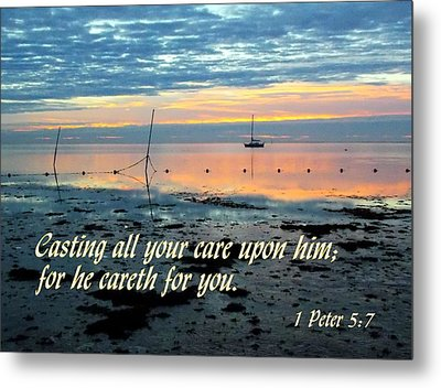 All Your Cares Metal Print