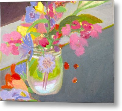 Alleghany Mason Jar Metal Print by Molly Fisk