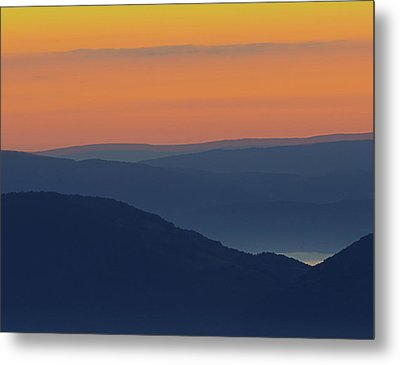Allegheny Mountain Morning Metal Print by Michael Donahue