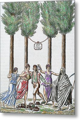 Allegory Of The French Revolution Metal Print by Prisma Archivo