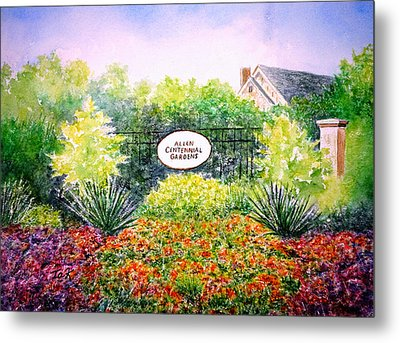 Allen Gardens Metal Print by Thomas Kuchenbecker