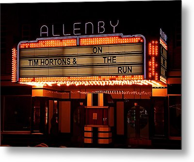 Allenby Theatre 1215 Danforth Metal Print by Nicky Jameson