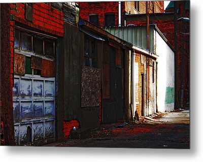 Metal Print featuring the photograph Alley by Rowana Ray