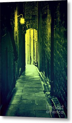 Metal Print featuring the photograph Alleyway by Craig B