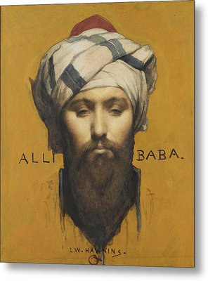 Alli Baba Metal Print