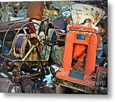 Allis Chalmers 1898 Metal Print by Lee Craig