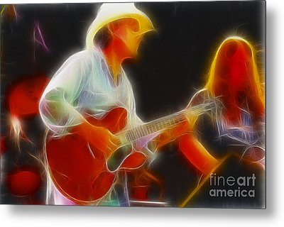 Allman-dickie-95-gc2-fractal Metal Print by Gary Gingrich Galleries