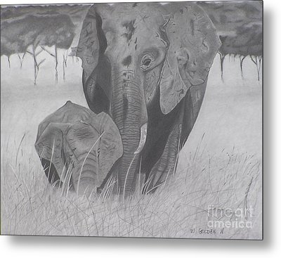 Allmother Metal Print by Wil Golden