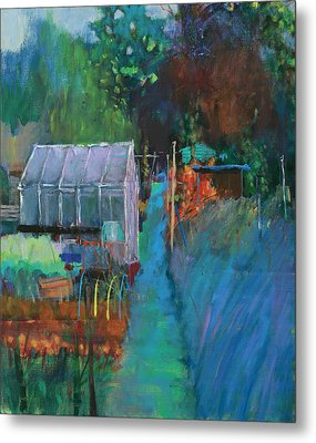 Allotment Metal Print by Marco Cazzulini