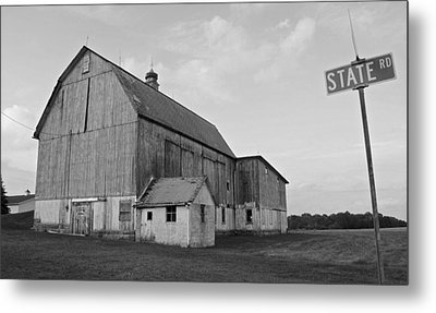 Allstates Competition Metal Print