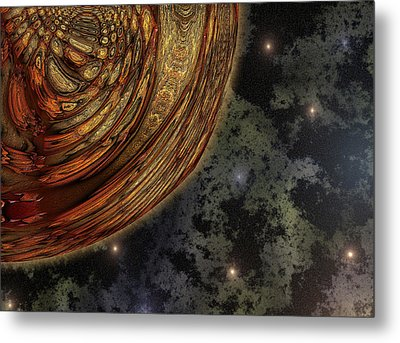 Almost Cosmos Metal Print by Wendy J St Christopher