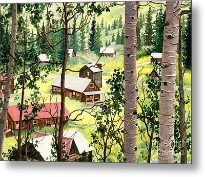 Almost Heaven Metal Print by Barbara Jewell