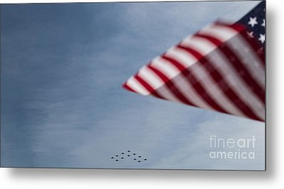 Metal Print featuring the photograph Almost Home by Angela DeFrias