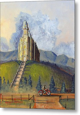 Almost Home Metal Print by Jeff Brimley