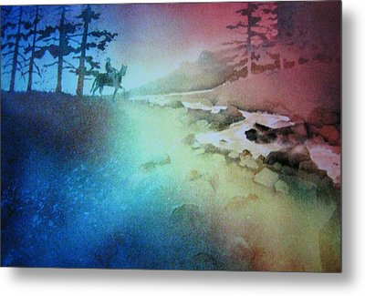 Metal Print featuring the painting Almost Home by John  Svenson
