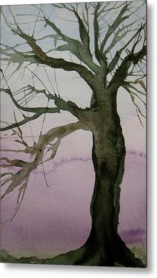 Metal Print featuring the painting Almost Spring by Beverley Harper Tinsley
