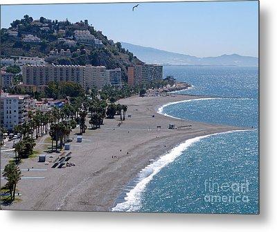 Almunecar Beach - Andalucia - Spain Metal Print