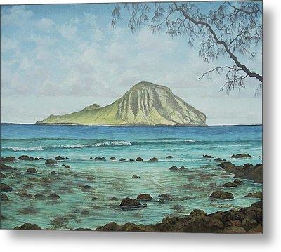 Aloha Kakahiaka Manana Metal Print by Wallace Kong