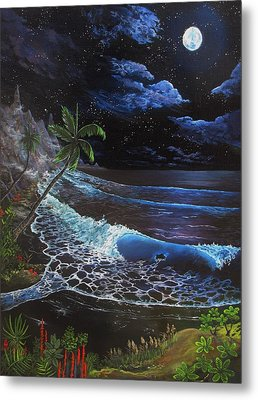 Aloha Luna Metal Print