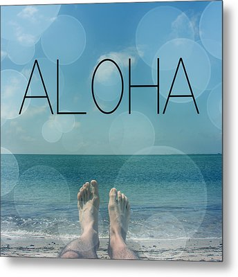 Aloha  Metal Print by Mark Ashkenazi