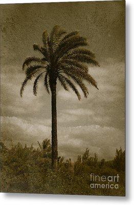Aloha Palm - No.2047 Metal Print