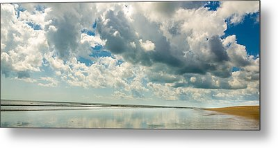 Alone At The Beach Metal Print