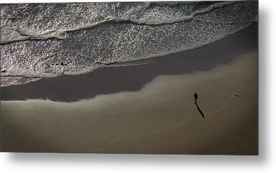 Alone Metal Print by Martin Newman