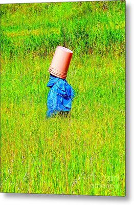 Alone With My Thoughts Metal Print by Newel Hunter