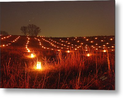 Along Hagerstown Pike 12 Metal Print by Judi Quelland