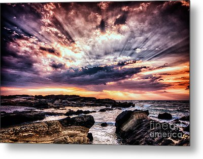 Metal Print featuring the photograph Alpha And Omega by John Swartz