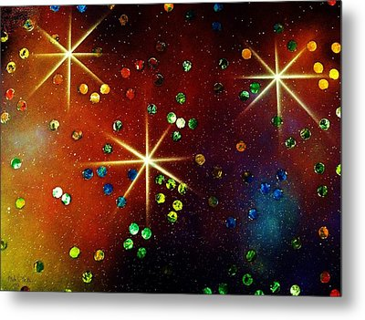 Alpha Centauri Metal Print by Michael Rucker