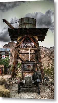 Alternative Fuel Metal Print by Eddie Yerkish