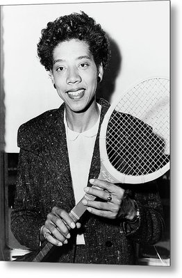 Althea Gibson (1927-2003) Metal Print by Granger