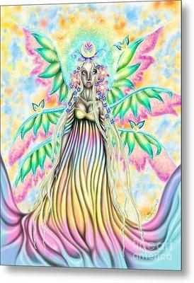 Altheia's Light Metal Print by Coriander  Shea