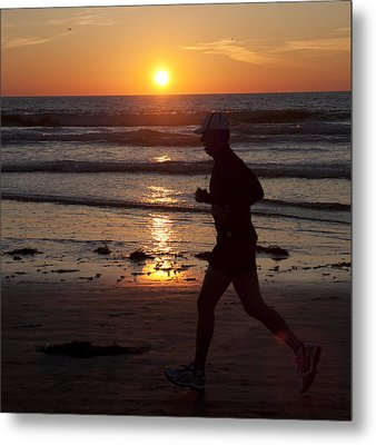 Metal Print featuring the photograph Always A Runner by Nathan Rupert