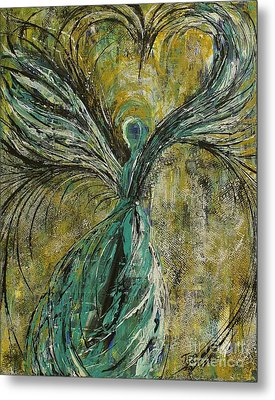 Metal Print featuring the painting Always In My Heart by Jane Chesnut