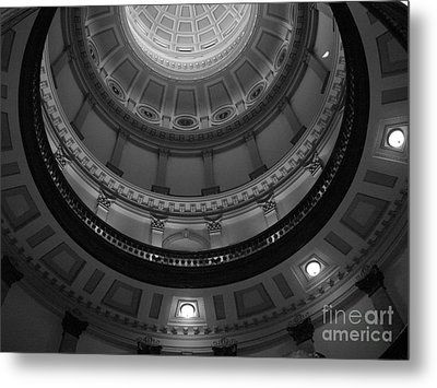 Always Look Up Metal Print by Barbara Bardzik